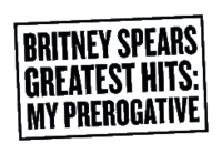 Britney Spears - Greatest Hits My Prerogative logo.png