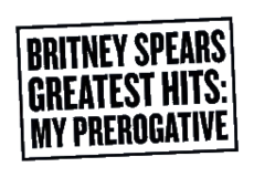 Logo del disco Greatest Hits: My Prerogative