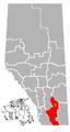 Brooks, Alberta Location.png