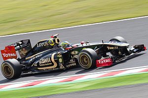 2011 Japanese Grand Prix - Bruno Senna qualified in ninth position.