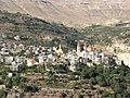 Bsharri (Becharre, Bsharre) village, Kadisha Valley, Lebanon.jpg