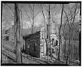Buckhorn Manor, Log Dwelling, State Route 603, Bacova, Bath County, VA HABS VA,9-BACO.V,1C-2.tif