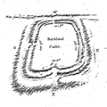 Buckland Rings by Thomas Wright 1744.png