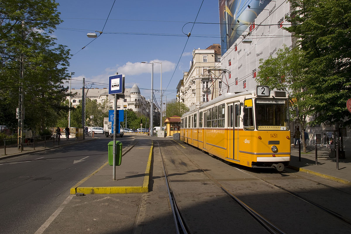 Trams in Budapest - Wikipedia