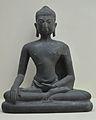 Buddha - Bronze - Circa 7th-12th Century AD - Jhewari - Chittagong - Bronze Gallery - Indian Museum - Kolkata 2012-12-21 2432.JPG
