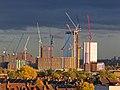Building construction at Tottenham Hale, Haringey 8.jpg