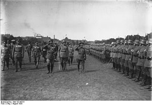 Infantry Regiment Großdeutschland - The Kommando der Wachtruppe in 1929