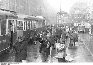 Berlin Alexanderplatz - Alexanderplatz in 1928