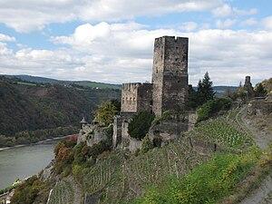 Gutenfels Castle - Image: Burg Gutenfels 01s