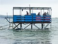 Burgh Island sea tractor in the water.jpg