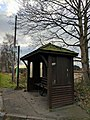 Bus Stop (north bound), National Cycle Way, Ollerton Road, Clumber, Notts.jpg