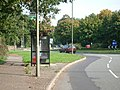 Bus stop on the north side of Queens Road - geograph.org.uk - 64235.jpg