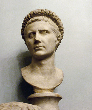 Executive magistrates of the Roman Empire - Augustus, the first Roman Emperor.