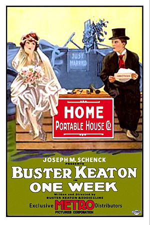 One Week (1920 film) - Image: Buster keaton one week poster