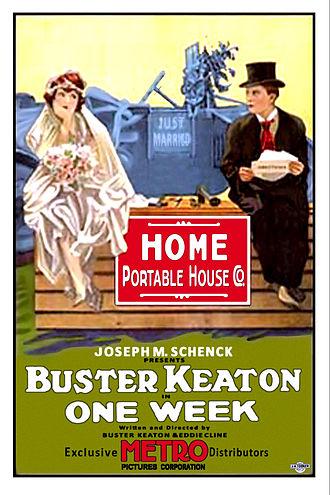 One Week (1920 film) - Image: Buster keaton one week poster