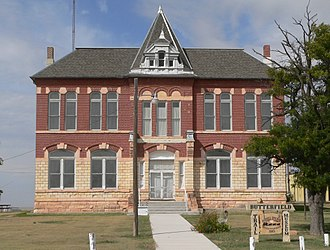 Logan County, Kansas - Image: Butterfield Trail Museum (Russell Springs, KS) from E 1