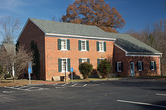 National Register of Historic Places listings in Goochland County, Virginia - Image: Byrd Presbyterian Church
