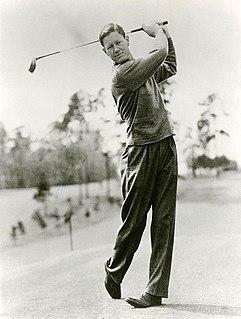 Byron Nelson American golfer