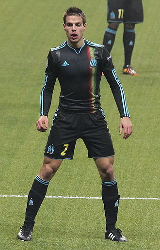 César Azpilicueta - Azpilicueta playing for Marseille in the 2010–11 season.