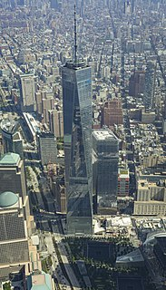 World Trade Center (2001–present) set of buildings built on the site of the former Word Trade Center site in New York City after 2001