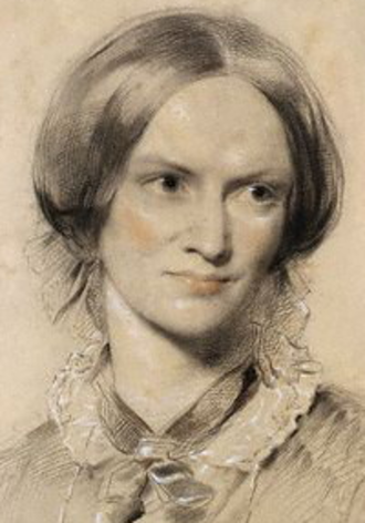 Charlotte Brontë - Portrait by George Richmond (1850, chalk on paper)