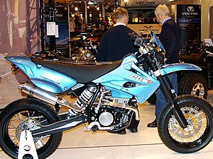Clews Competition Motorcycles - CCM R45 (2007 NEC Show)