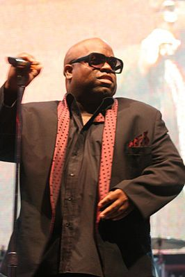 Cee Lo Green op een Gnarls Barkley-concert in juli 2010