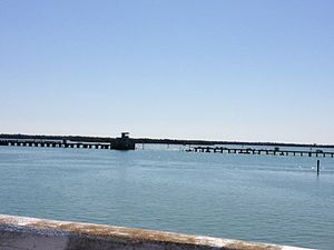 Boca Grande Causeway - Image: CH&N Railway North Bridge