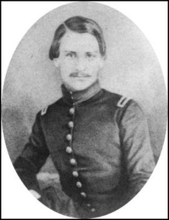 Cadmus M. Wilcox - Wilcox as US Army second lieutenant
