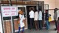 COVID-19 antigen testing centre Warora Maharashtra India.jpg