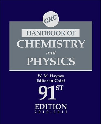 CRC Handbook of Chemistry and Physics - Title page of the 91st Edition