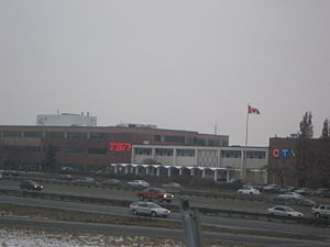 TSN Radio - TSN Radio's secondary studios are also located at Bell Media's 9 Channel Nine Court, where TSN and CFTO-DT are based