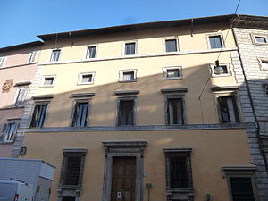 Giovanni Mangone - Palazzo Massimo di Pirro in Rome (today along Corso Vittorio Emanuele II) is the only building still extant surely designed by Giovanni Mangone