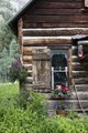 Cabin in Crystal, Colorado, a virtual ghost town in a valley on the upper Crystal River in Gunnison County, on a precipitous, a four-wheel-drive-only road between Marble and Crested Butte LCCN2015633757.tif