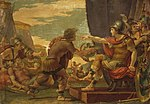 Cades, Giuseppe - Alexander the Great Refuses to Take Water - 1792.jpg