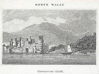 Caernarvon Castle. North Wales