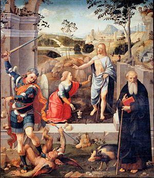 Timoteo Viti - Altarpiece in Cagli