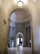 California Palace of the Legion of Honour, architecture