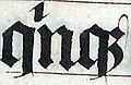 "Calligraphy.malmesbury.bible.arp (cropped) - Scribal abbreviation ""qnq;"" for ""quinque"".jpg"