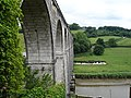 Calstock viaduct and the road to Ferry Farm - geograph.org.uk - 196259.jpg
