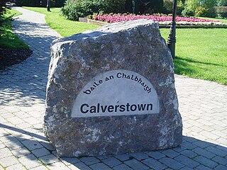 Calverstown Town in Leinster, Ireland
