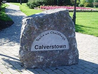 Calverstown - Image: Calverstown Stone