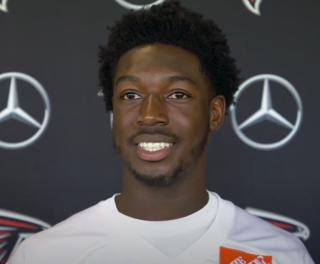 Calvin Ridley American football wide receiver
