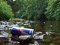 Camowen River - debris - geograph.org.uk - 874372.jpg