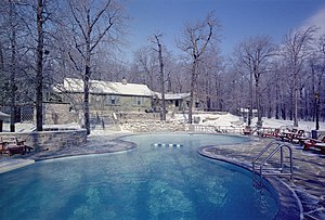 Main Lodge at Camp David
