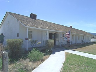 Camp Verde, Arizona - Image: Camp Verde Fort Camp Verde Administration House 1871