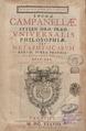 Campanella - Metaphysica, 1638 - 3891922 301891 1 00009.tif