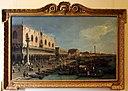 Canaletto, il molo verso la riva degli schiavoni con la colonna di san marco, ante 1742, 01.JPG