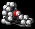 Cannabidivarin molecule spacefill.png