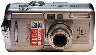Canon PowerShot S - Image: Canon Power Shot S45